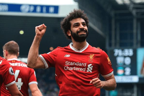 شاهد اهداف ليفربول وويست بروم وتألق محمد صلاح