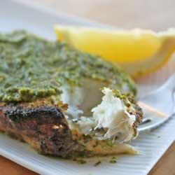Swordfish with chermoulla