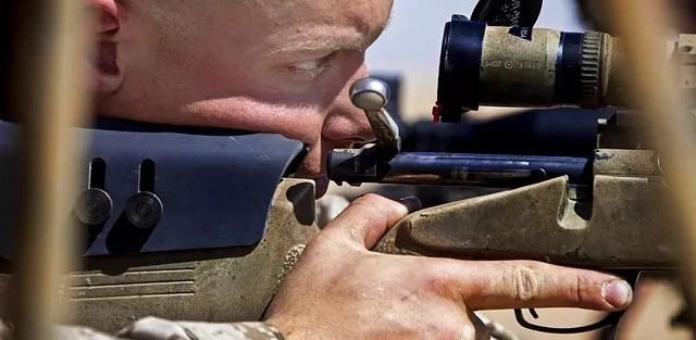 sighting in a scope