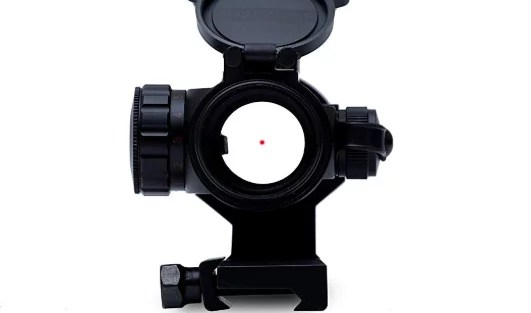 how to shoot with a red dot sight