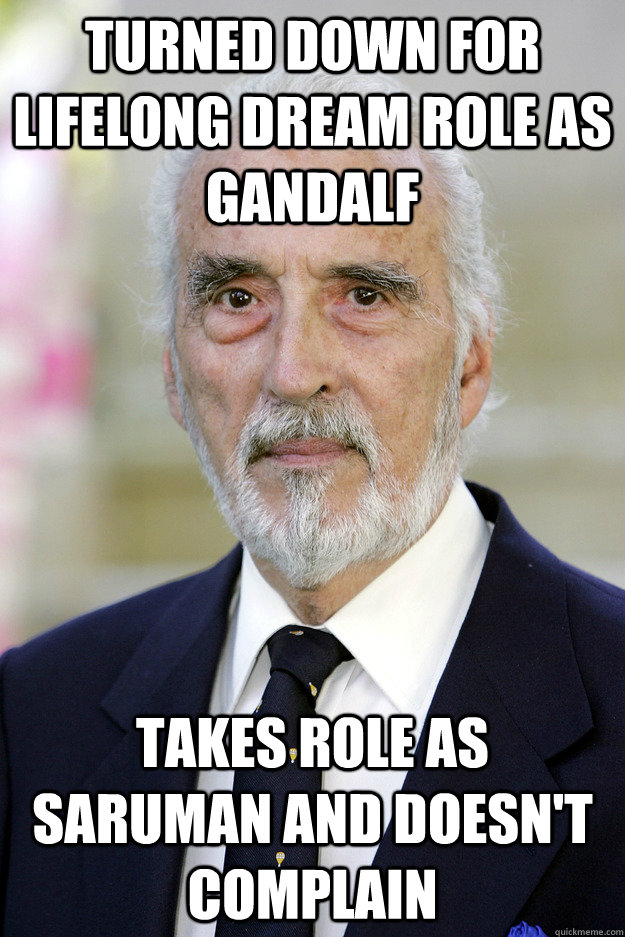 Turned Down For Lifelong Dream Role As Gandalf Takes Role