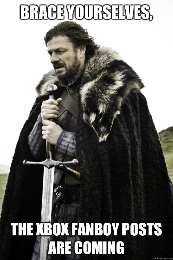 brace yourselves the xbox