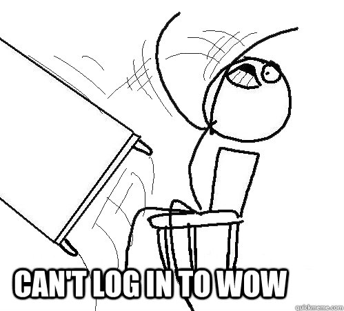 can t log in