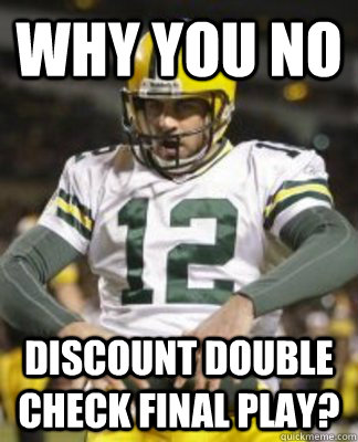 why you no discount
