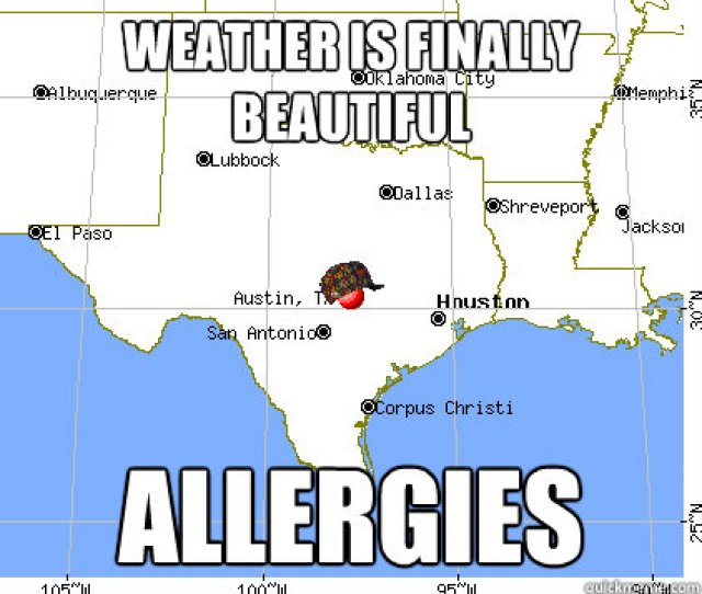 Weather Is Finally Beautiful Allergies