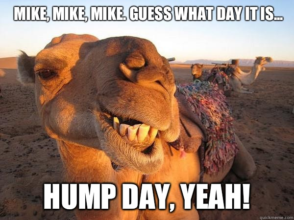 Image result for mike guess what day it is