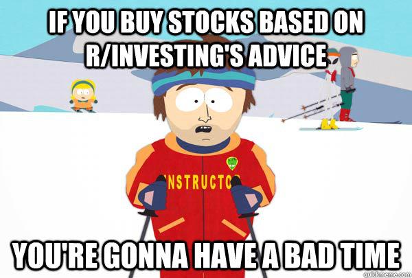 if you buy stocks