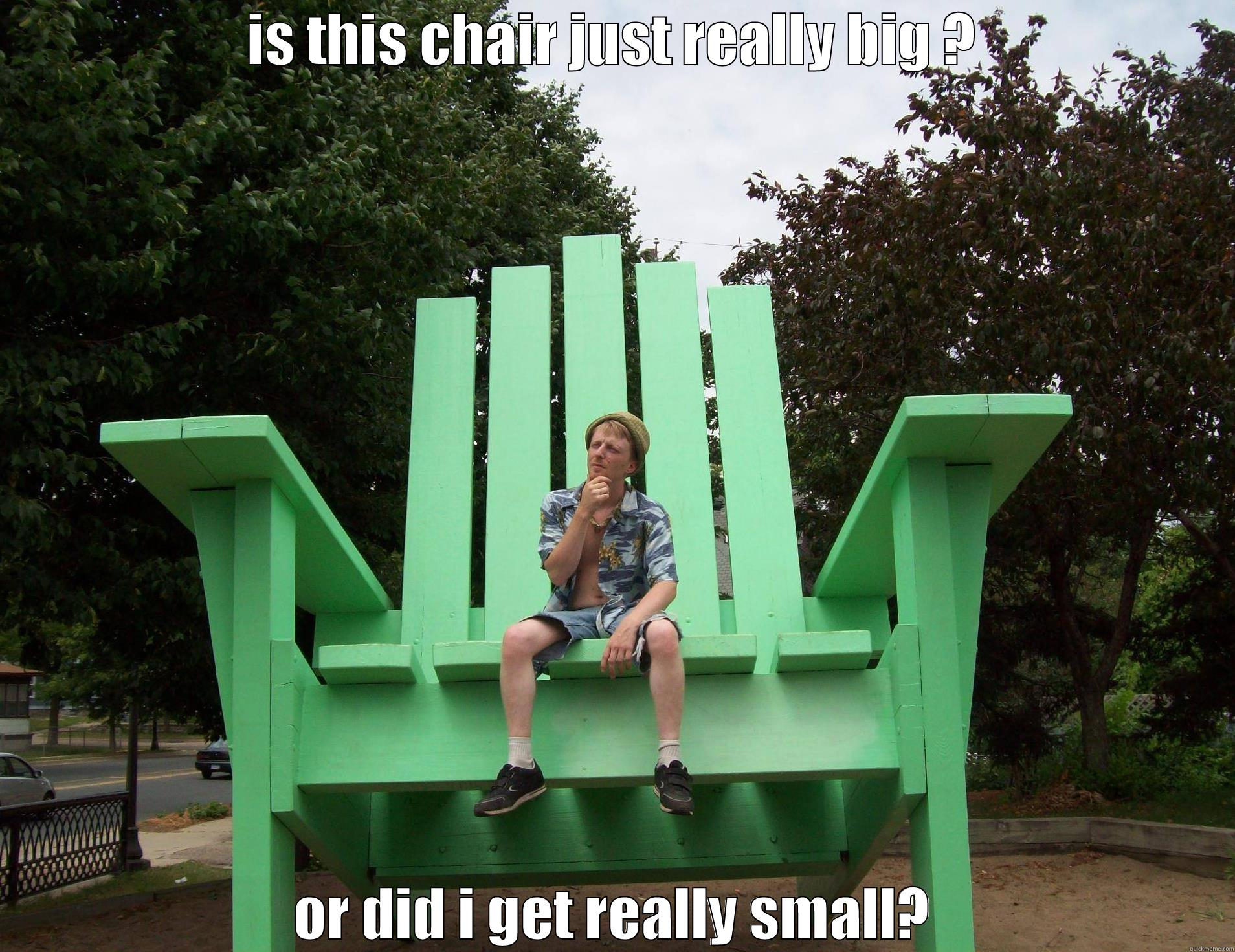 big man chairs personalized for toddlers little chair quickmeme is this just really or did i get