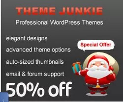 Theme-Junkie 50%  OFF Discount Offer