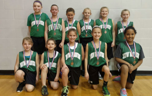 4th Grade Girls Take Consolation At St James  New Haven
