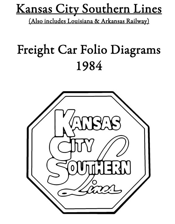 KCS and L&A Freight Car Diagrams & Folios 1984 by BHI