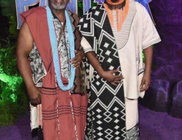 Atandwa Kani and John Kani Black Panther