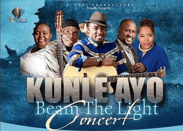 Kunle Ayo Beam The Light concert