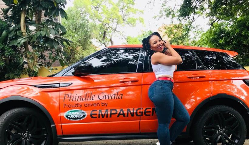 Phindile Gwala new Range Rover