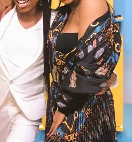 Somizi Mhlongo and Bonang Matheba