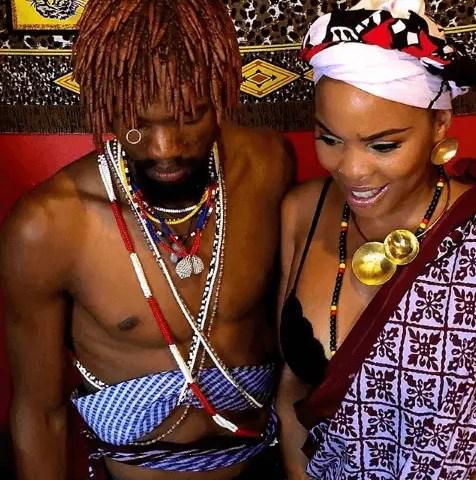 Masechaba Ndlovu sangoma