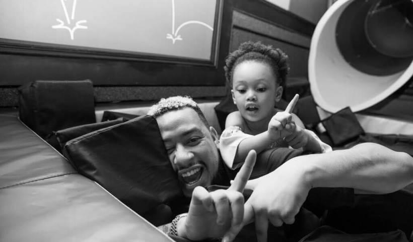AKA and his daughter Kairo