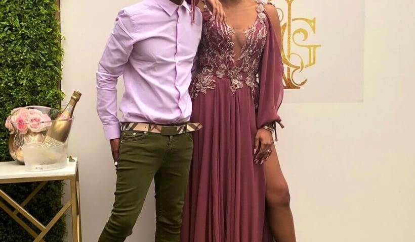 Bonang Matheba and Somizi Mhlongo