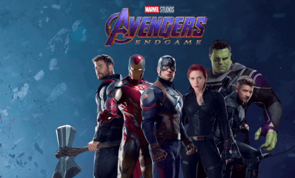 Avengers Endgame movie in Ster Kinekor cinema