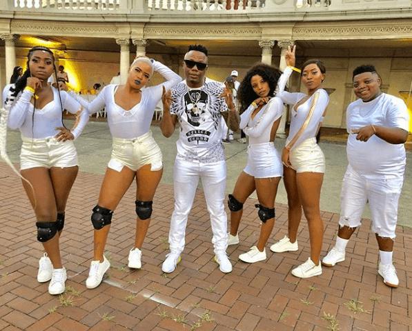 DJ Tira and his crew