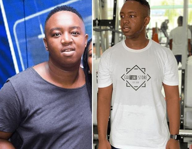 DJ Shimza weight loss