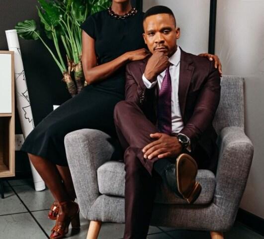 Thembeka Shezi and Mthunzi Mayiza