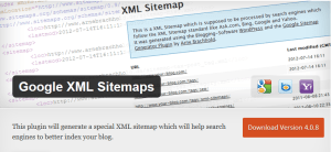 google-xml-sitemap-most-popular-wordpress-plugin