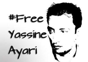 Yassine_Ayari Tunisian blogger arrested