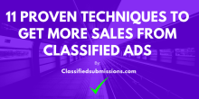 how to get sales from classified ads ebook