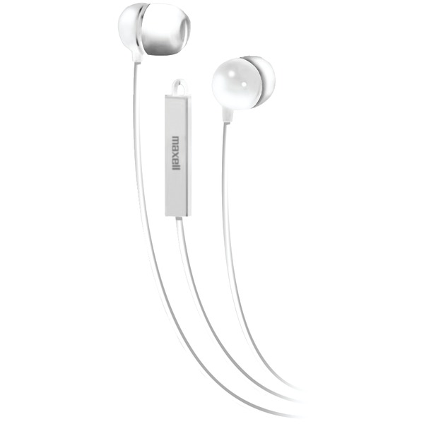 Maxell Stereo In-Ear Earbuds with Microphone & Remote