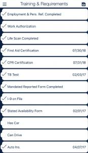 SLS training requirements