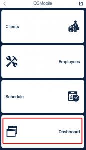 dashboard_qsp mobile app