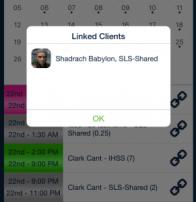 Linked client shift_qsp mobile app