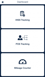 IHSS POS Mileage tracking_qsp mobile app