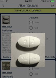 medication image enlarged_qsp medication tracking app