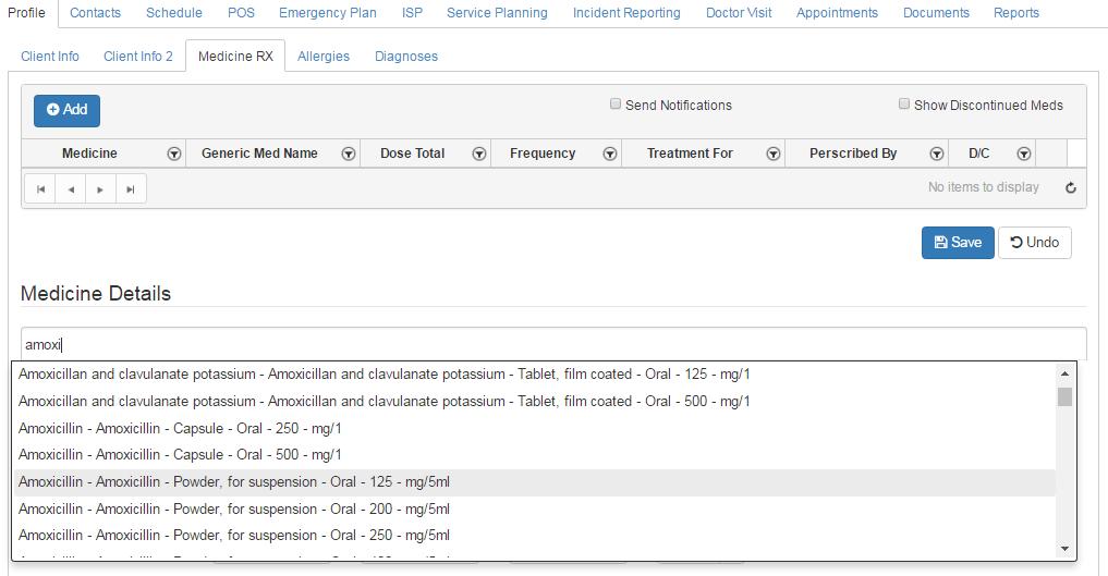 med lookup search results_qsp med tracking app