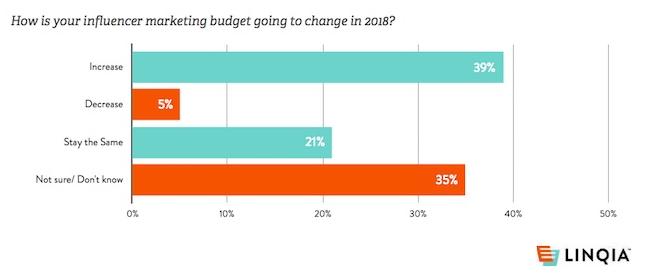 influencer budget