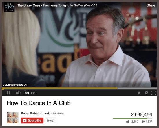 YouTube CPV Ad