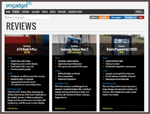 Engadget Phone Reviews