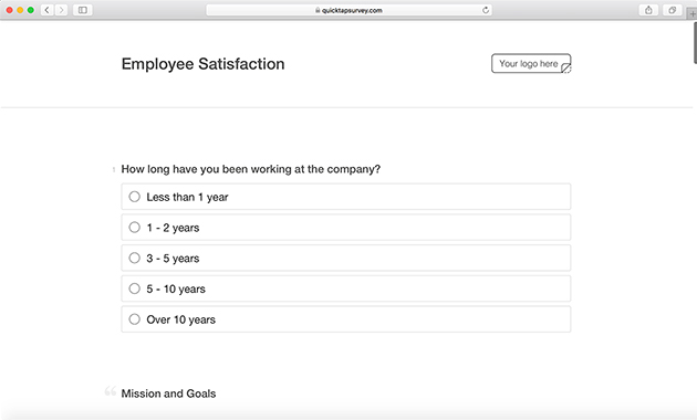 Employee Satisfaction Survey Template & Questions