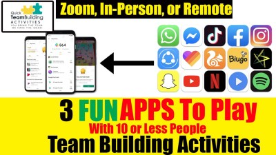 Team building apps
