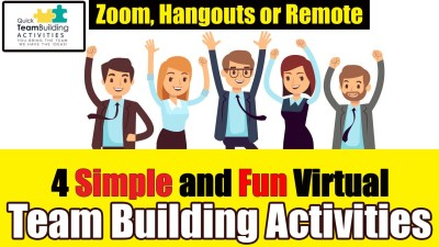 Four simple team building activities