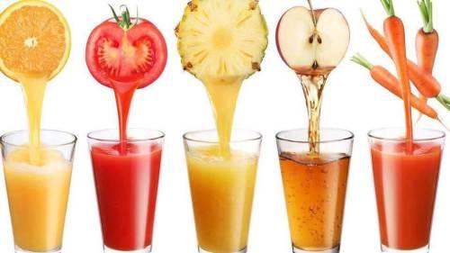 דיאטה ומיצי פירות וירקות טריים