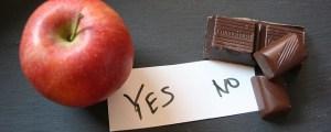תפוח או שוקולד