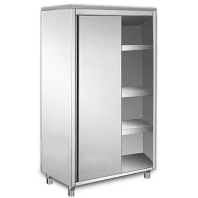 armoire haute inox p 600 x h 1800 mm