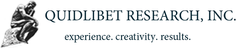 QUIDLIBET RESEARCH, INC. experience. creativity. results.