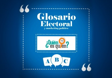 Glosario electoral y marketing político.