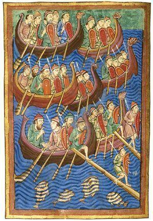 Vikingos en Inglaterra