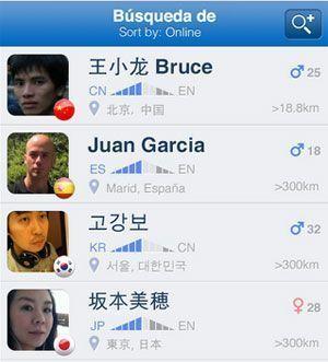 App para intercambio de idiomas