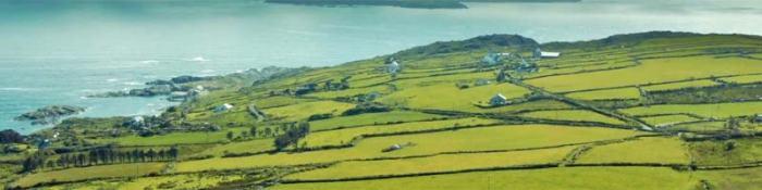 Colegios en pueblos de Irlanda
